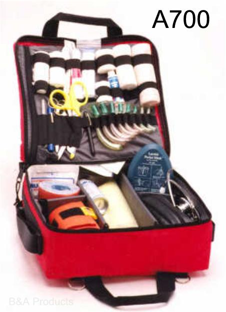 Equipment and First Aid Bags for First Responders, EMTs, and Other Emergency Medical Personal